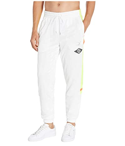 PUMA LuXTG Luxe Woven Pants (PUMA White) Men