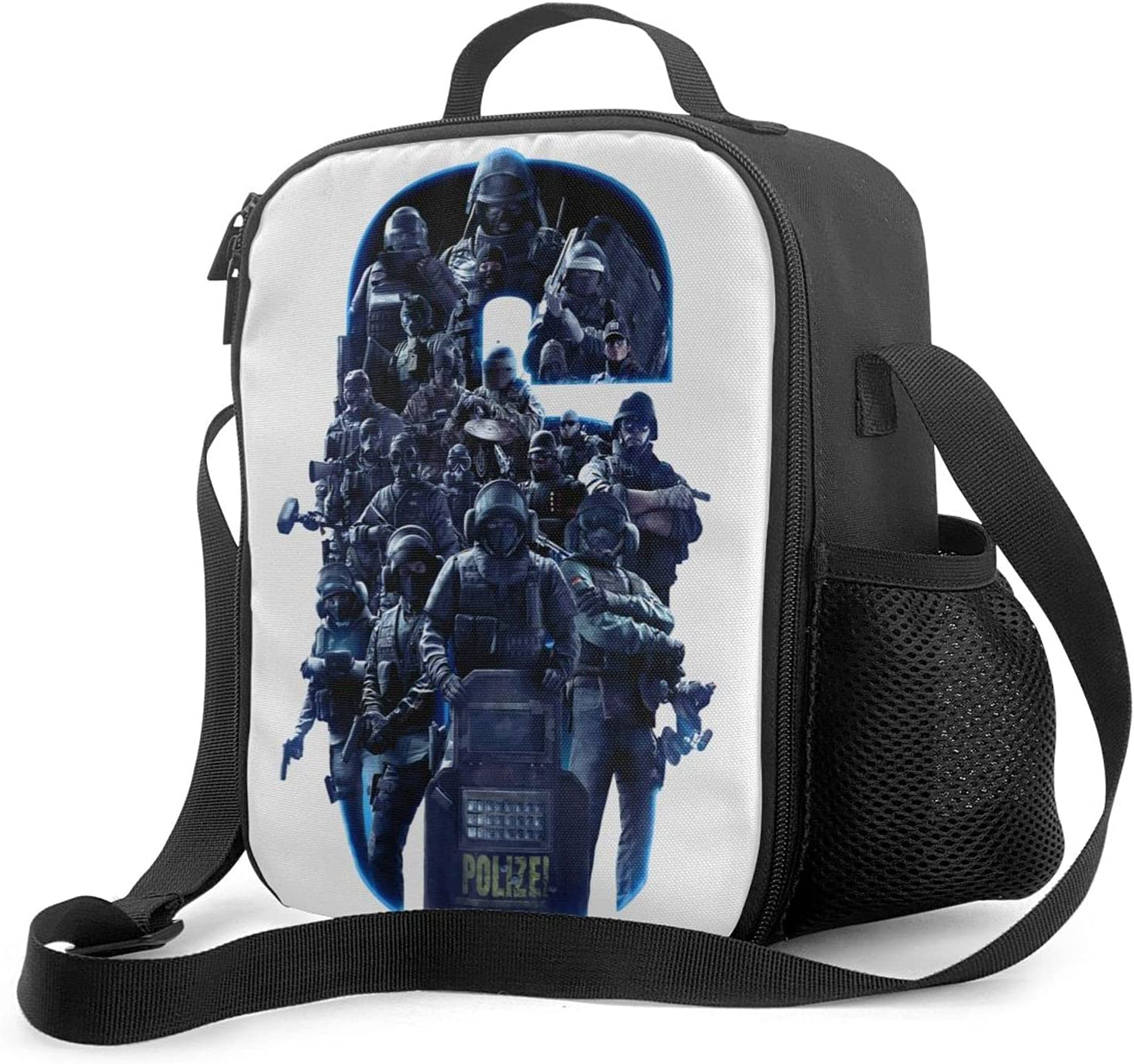 Rainbow Six Siege Lunch bags picnic can kep discount that be Bargain lunch boxes