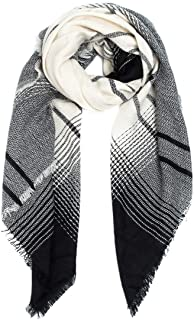 Plaid Square Scarf Ladies Warm Soft Comfortable Shawl Oversize Scarf Multi-clock Color VSH320