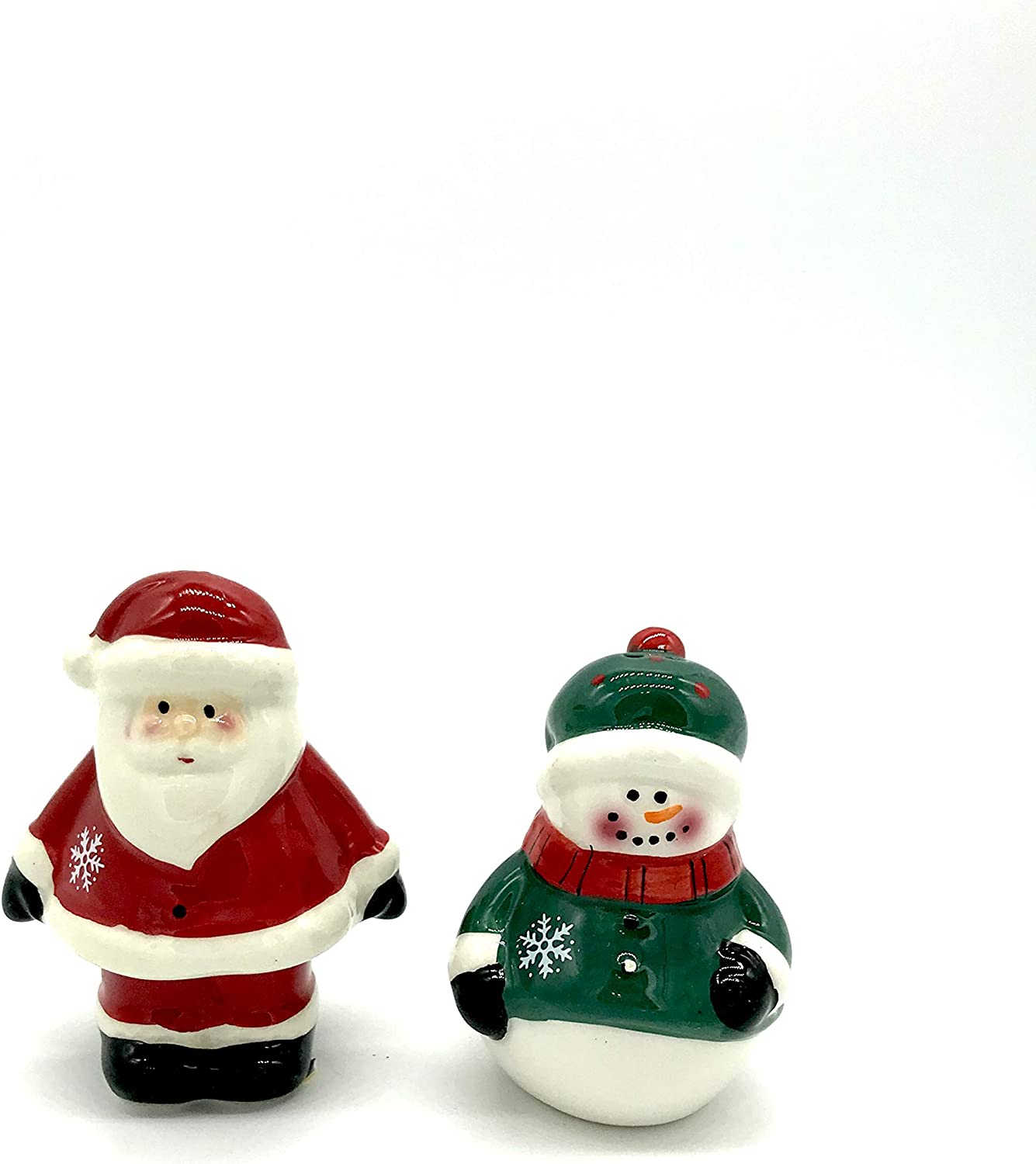 Snow Magic Santa and Snowman Pepper Our shop OFFers the best service Set Salt New Free Shipping Shaker