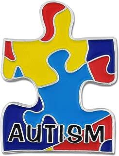 Best autism puzzle piece pin Reviews