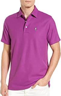 Classic Polo Shirt in Mulberry Purple