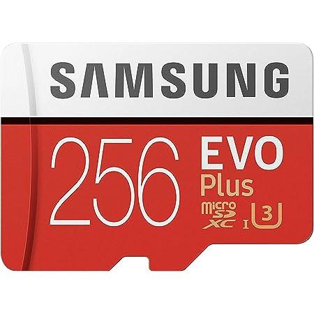 SAMSUNG 256GB EVO Plus MicroSDXC w/Ad