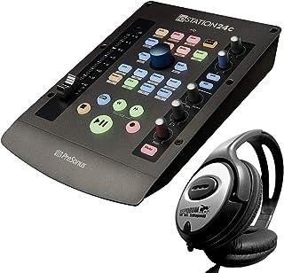 Presonus ioStation 24C - Interfaz de audio USB y controlador DAW + auriculares Keepdrum