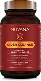 Sponsored Ad - Cider Cleanse | Certified Organic Apple Cider Vinegar w/The Mother, Vitamin C, Ginger, Cinnamon, & Cayenne ...