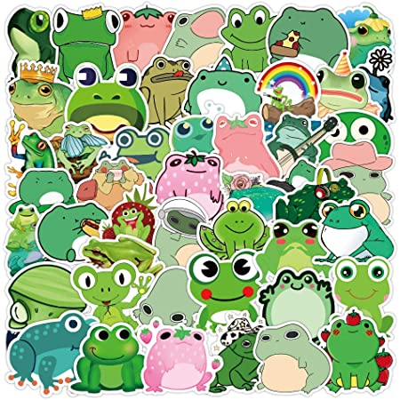 Refrigerator Bicycle Blueyy Stickers Pack Kettle Skateboard Trunk, Great Birthday Gifts for Kids 50pcs Blueyy Stickers for Laptop