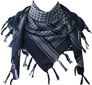 Cotton Shemagh Tactical Desert Scarf Wrap