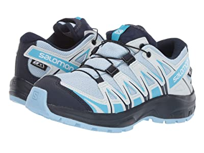 Salomon Kids Xa Pro 3D Cswp (Little Kid/Big Kid) (Cashmere Blue/Illusion Blue/Cyan Blue) Kids Shoes
