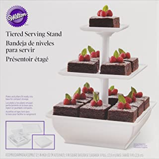 wilton snack server three tiered stand
