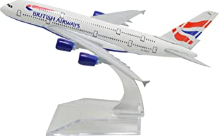 TANG DYNASTY(TM) 1:400 16cm Air Bus A380 British Airways Metal Airplane Model Plane Toy Plane Model