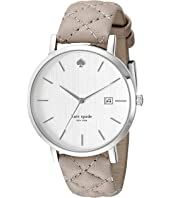 Kate Spade New York - Metro Grand Quilted Strap Watch - 1YRU0846