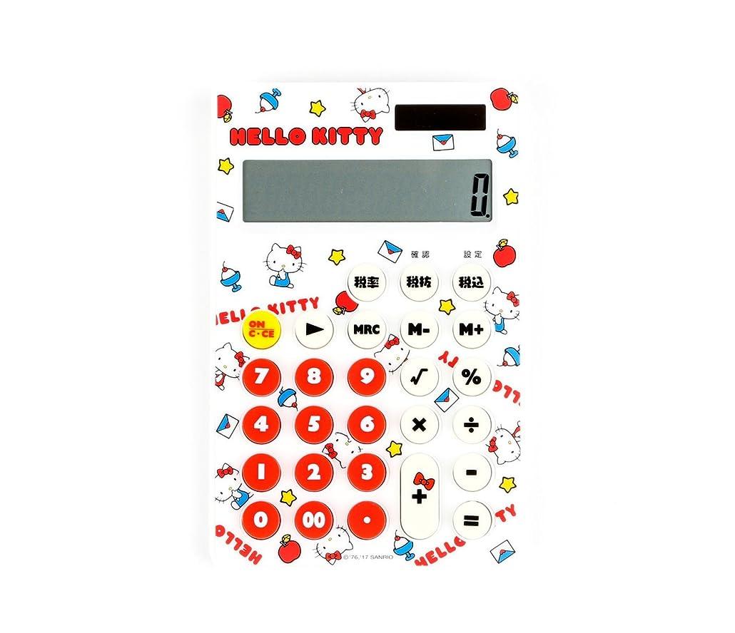 赤ちゃんぴかぴか感染するサンリオ HELLO KITTY 電卓(チラシ)  D960
