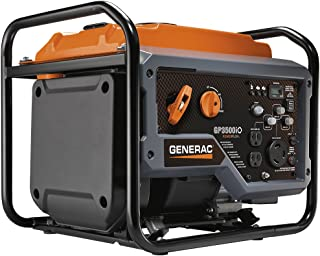 Generac GP3500iO Open Frame RV Ready Inverter Generator – 3500 Starting Watts with..