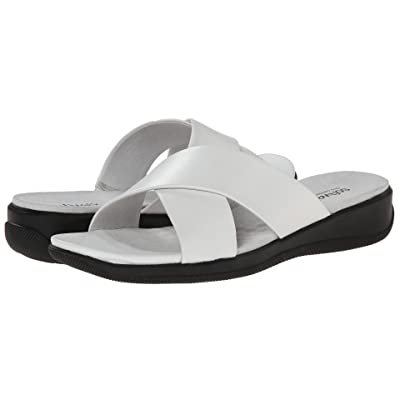 SoftWalk Tillman (White Soft Nappa Leather) Women
