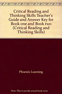 Critical Reading and Thinking Skills Teacher's Guide and Answer Key for Book one and Book two (Critical Reading and Thinking Skills)
