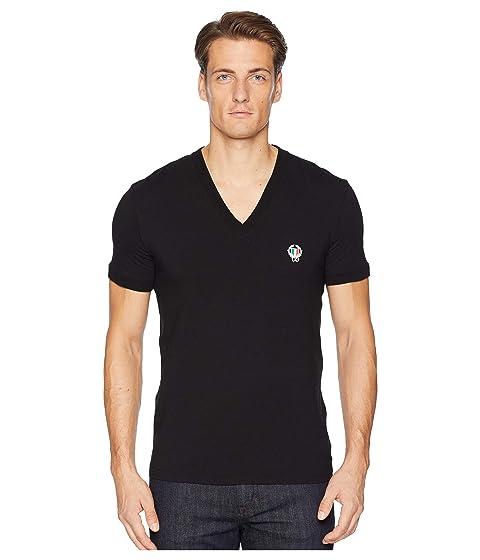 Dolce & Gabbana Sport Crest V-Neck T-Shirts