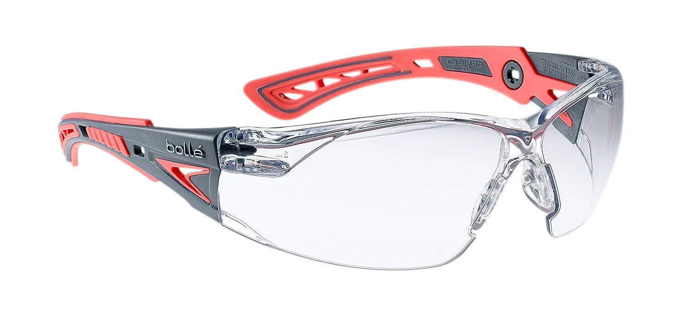 Bolle RUSH con lentes transparentes que protegen contra UVA/UVB, impacto y niebla - RUSHPSPSIS