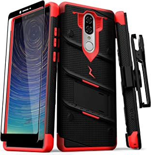 ZIZO Bolt Series Coolpad Legacy Case Military Grade Drop Tested with Full Glass Screen..