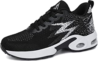 Mishansha Women's Comfortable Running Shoes Outdoor Athletic Sport Tennis Excercise Breathable Fashion Sneakers Walking Tr...