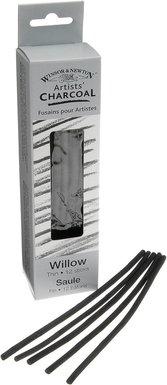 Winsor /& Newton Fusains 3 Batons Fins