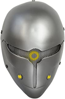 Brand New Wire Mesh Gray Full Face Protection Paintball CS Airsoft Sci-fi Robot Mask Halloween Prop Cosplay