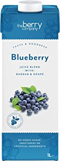 The Berry Company Blueberry Juice Blend with Baobab & Grape, 1 Litre