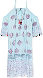 South Beach Beach Dress for Women - Multi Color (M)