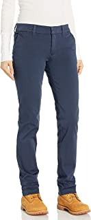 dickies Womens FP401 Perfect Shape Straight Twill Pant Work Utility Pants