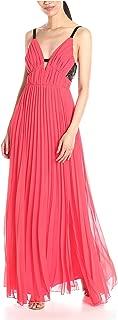 A.B.S. by Allen Schwartz Women's Lace Back Pleated Gown