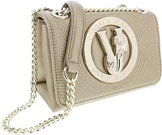 Versace Gold Compact Shoulder Bag-EE1VTBBM4 E901 for Womens