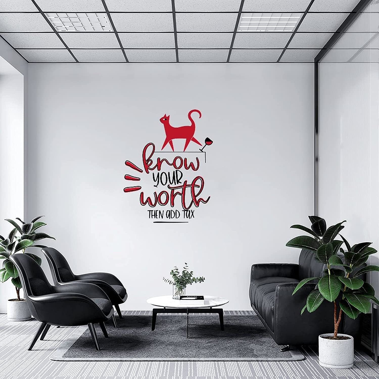 Wall Decal Know Your Max 64% OFF Worth Then Classroom Very popular Kitch Tax Add Nursery