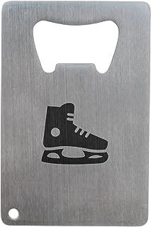 Hockey Skate Bottle Opener, Stainless Steel Credit Card Size, Bottle Opener For Your Wallet, Credit Card Size Bottle Opener