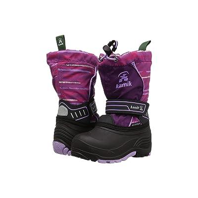 Kamik Kids Snowcoastp (Toddler/Little Kid/Big Kid) (Grape/Lavender) Girls Shoes