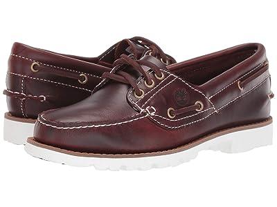 Timberland Noreen Lite Handsewn Boat Shoe (Burgundy Full Grain) Women