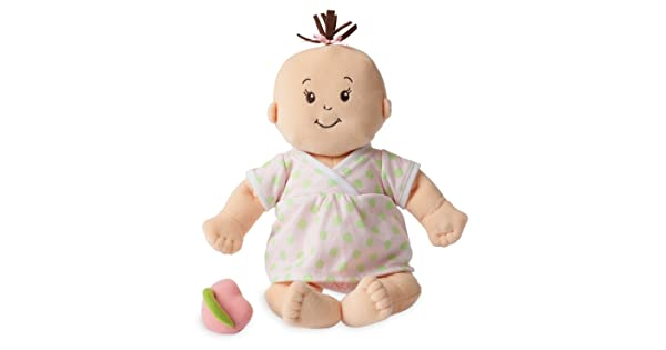 15 15 153200 Manhattan Toy Baby Stella Sweet Sounds Soft First Baby Doll for Ages 1 Year and Up