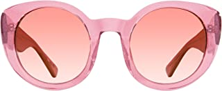 Eyewear: Luna - Designer Round Sunglasses - 100% UVA/UVB