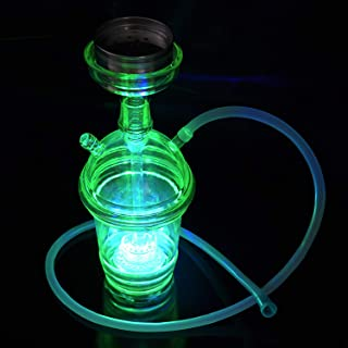 Cup deaign LED Light 1 Hose Hookah with Accessories Set Shisha A Complete Set