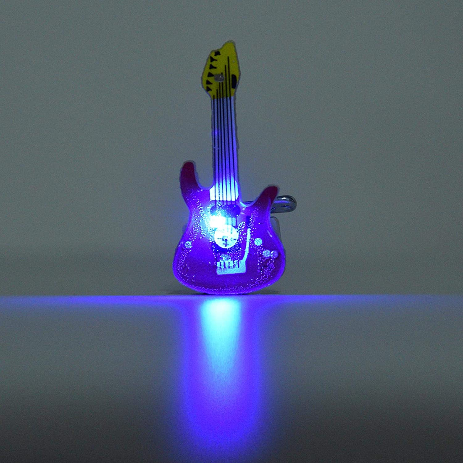 Surprise price Plastic Brooch Electric Guitar for Limited time cheap sale Suit Appre Christmas