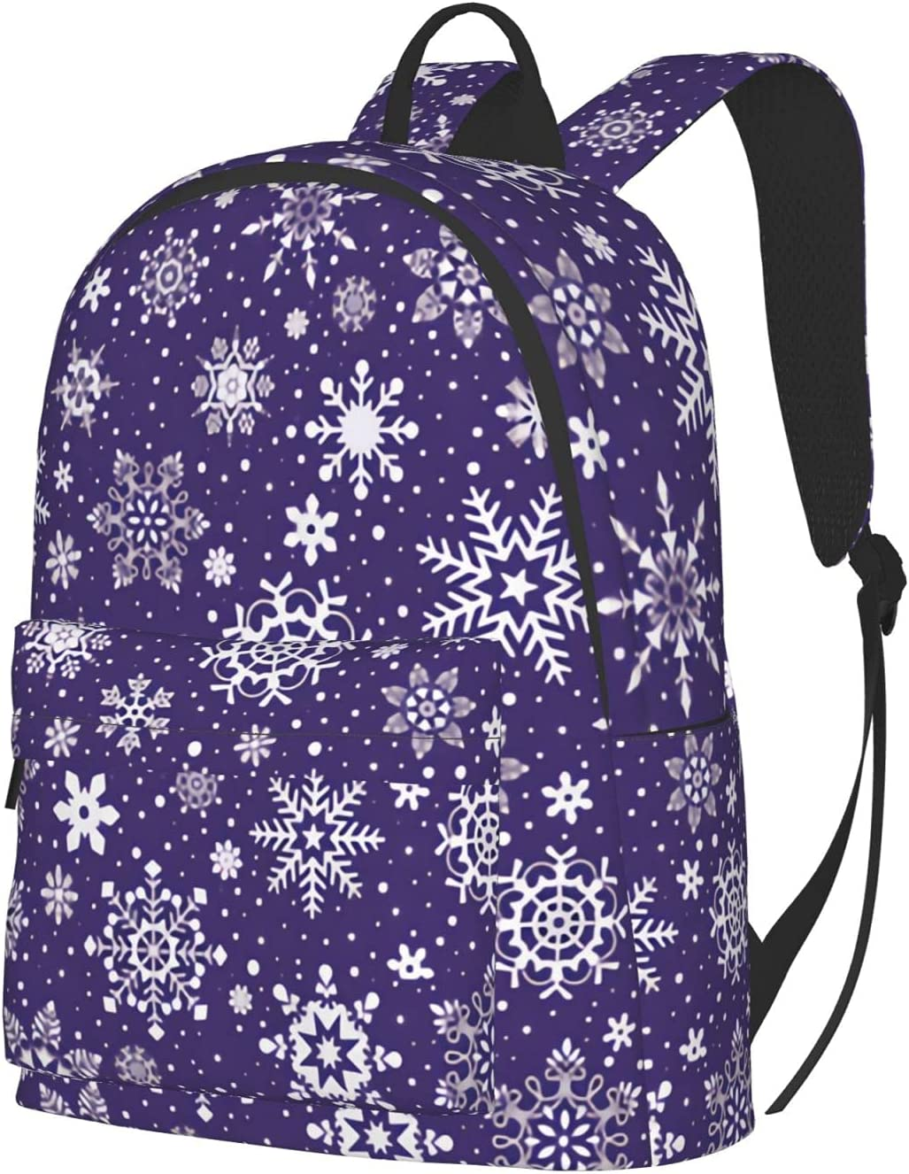 snowflakes - dark Our shop 70% OFF Outlet OFFers the best service purple Backpack Unisex Travel Laptop
