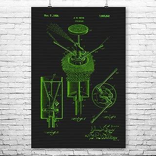 Pop Up Sprinkler Poster Print, Gardening Gift, Lawn Care, Water Sprinklers, Irrigation Equipment, Home Improvement Terminal (16