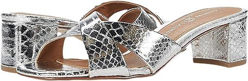 Silver Metallic Python