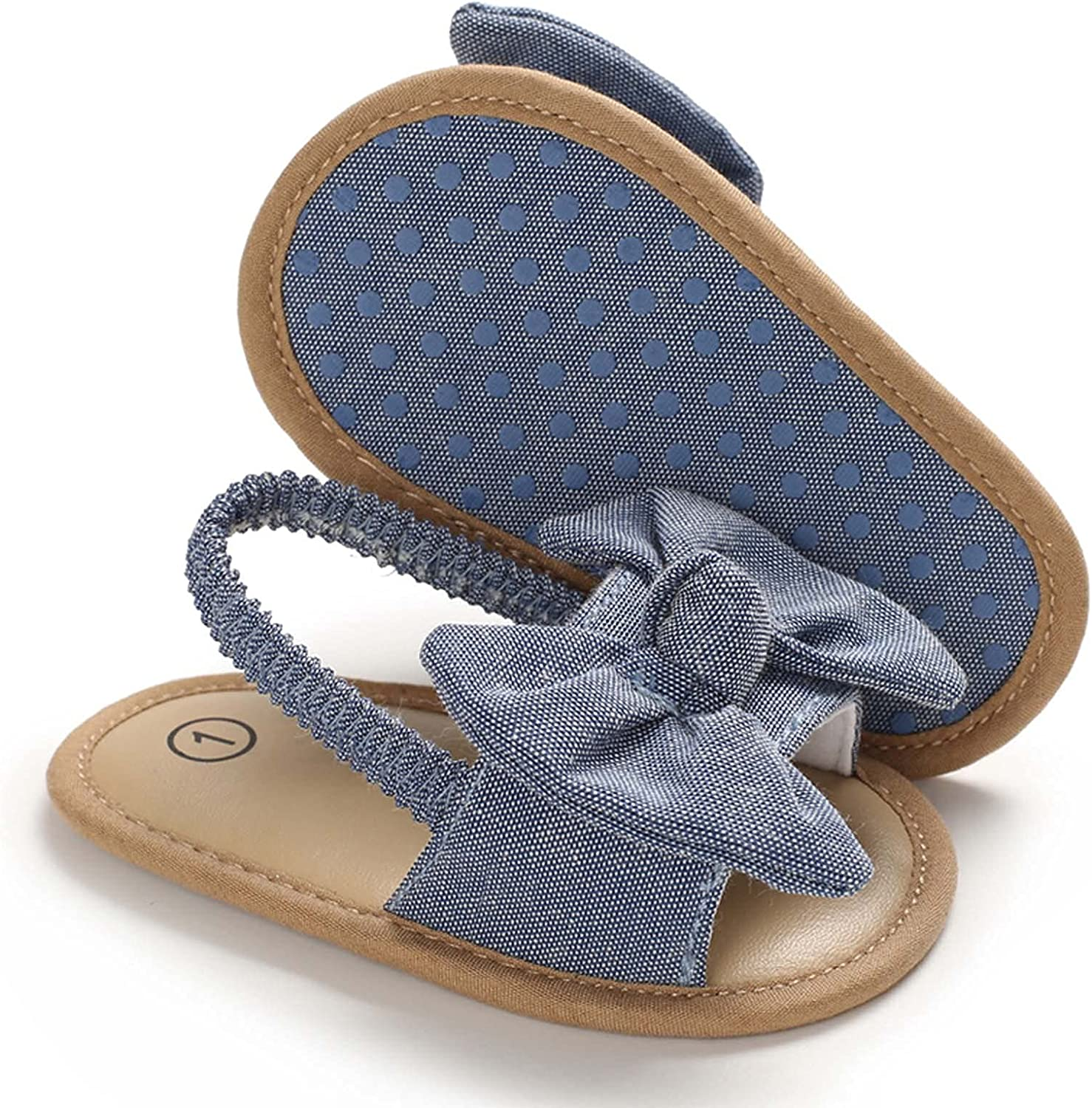 0-1 Years Old Baby Girls Bow Summer Knot Direct stock discount Sandals Cute Flat 5 popular Pri