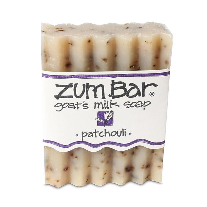 ずんぐりしたサンダー幻滅する海外直送品 Indigo Wild, Zum Bar, Goat's ミルク ソープ パチョリ, 3 Ounces (2個セット) (Patchouli) [並行輸入品]