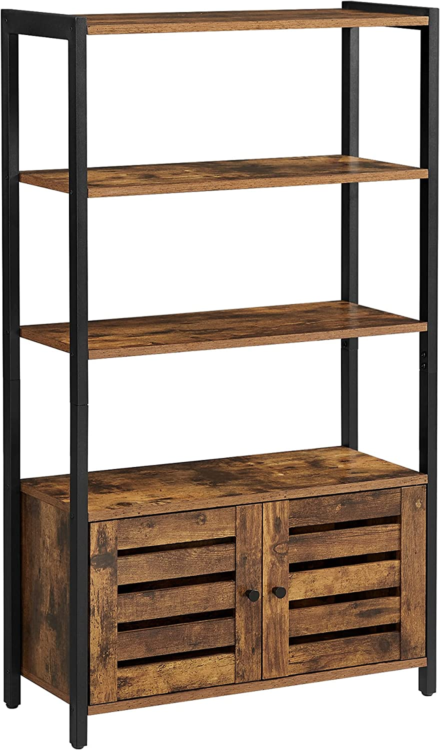 Many popular brands VASAGLE LOWELL Bookshelf Storage Cabinet with Shelves L Max 47% OFF 3 2 and