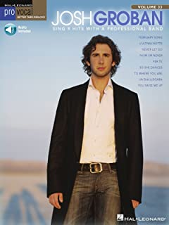 Josh Groban Songbook: Pro Vocal Men's Edition Volume 33