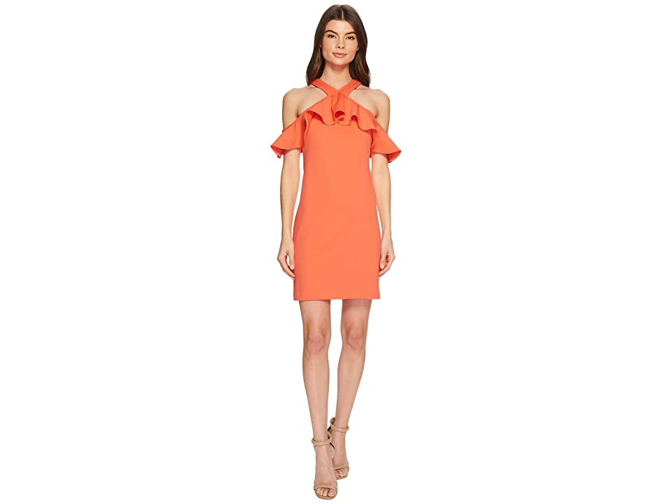 Trina Turk Jurnee Dress (Coral Lilly) Women