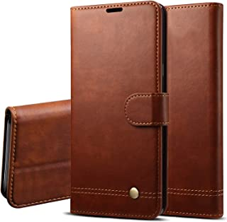 LBYZCASE Phone Case for LG Stylo 6 (6.8 inches),Folding Flip Leather Wallet Shockproof Protective Case Cover with Card Slots,Kickstand,Magnetic Closure for LG Stylo 6 (Brown)