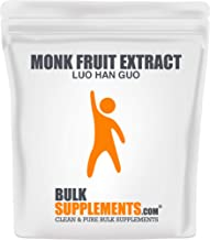 Bulksupplements Monk Fruit Extract (Luo Han Guo) Powder (250 Grams)
