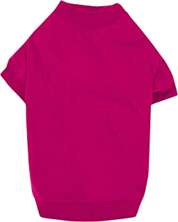 "Zack & Zoey Basic Tee Shirt for Dogs,16"" Medium, Pink"