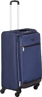 AmazonBasics 64 cm Navy Blue Softsided Check-In Trolley
